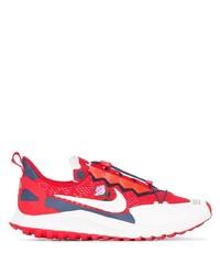 Deportivas en rojo y blanco de Nike