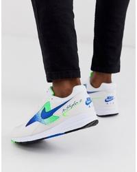 Deportivas estampadas blancas de Nike