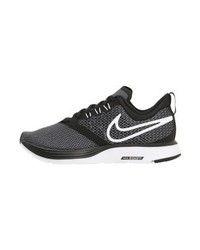 Deportivas estampadas en gris oscuro de Nike