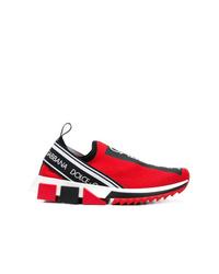 Deportivas rojas de Dolce & Gabbana