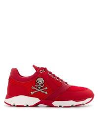 Deportivas rojas de Philipp Plein