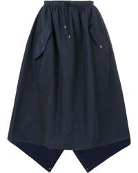 Falda azul marino de Kenzo
