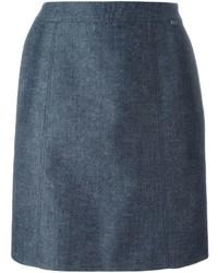 Falda azul de Chanel