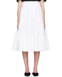Falda Blanca de Fendi