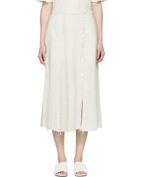 Falda blanca de Raquel Allegra