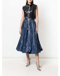 Falda campana azul marino de Calvin Klein 205W39nyc