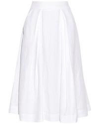 Falda campana blanca de Milly