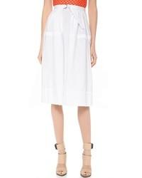 Falda campana blanca de Tibi