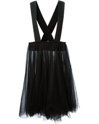 Falda campana de tul negra de Comme des Garcons
