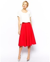 Falda campana roja original 1477707