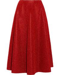 Falda campana roja de Golden Goose Deluxe Brand