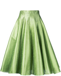 Falda campana verde
