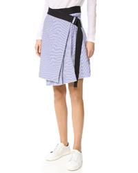 Falda celeste de Rag & Bone
