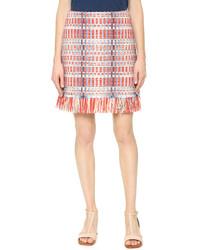 Falda celeste de Tory Burch