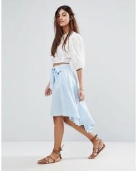 Falda celeste de Vila