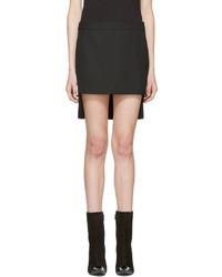 Falda de lana negra de Haider Ackermann