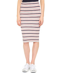 79b23f8be Comprar una falda de rayas horizontales rosada: elegir faldas de ...
