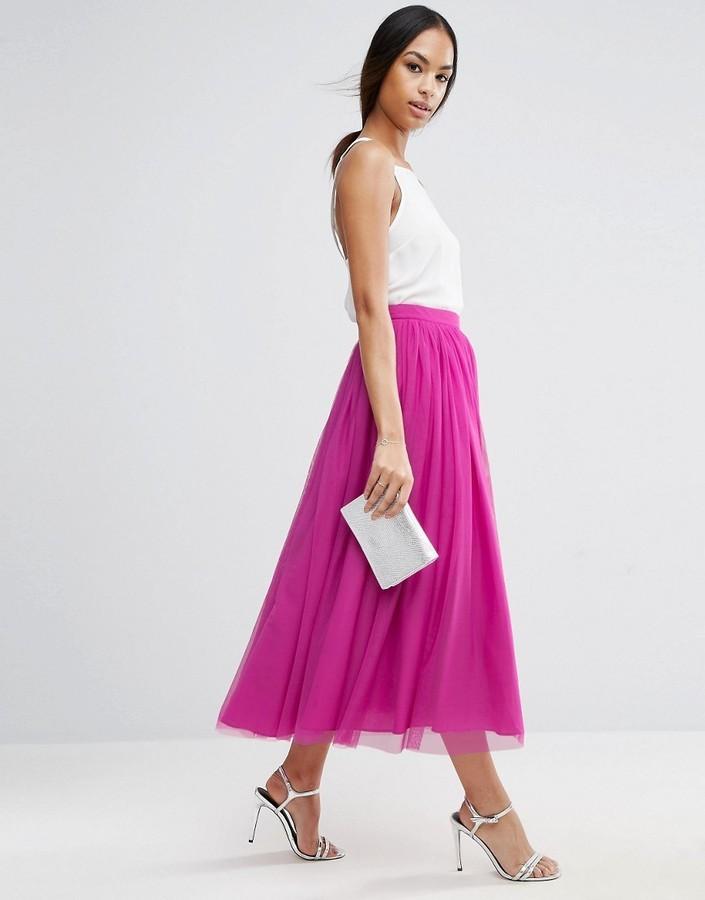 Falda de Tul Rosa de Asos: dónde comprar y cómo combinar