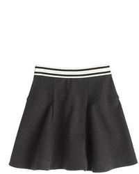 Falda en gris oscuro