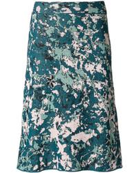 Falda en verde azulado de M Missoni