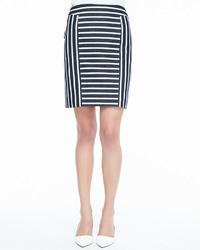 55e263e4e Cómo combinar una falda de rayas horizontales (62 looks de moda ...