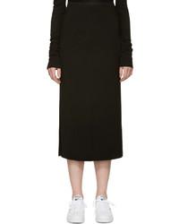 Falda lápiz negra de Isabel Marant