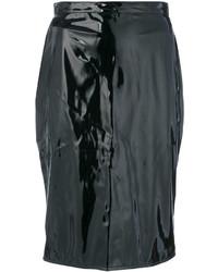 Falda lápiz negra de Moschino