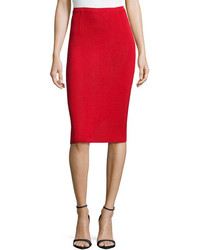 Falda lapiz roja original 1455675