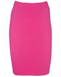 Falda lapiz rosa original 4379728