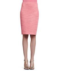 Falda lapiz rosada original 1458123