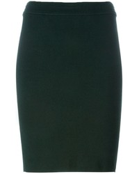 Falda Lápiz Verde Oscuro