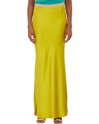 Falda larga amarilla original 1467303
