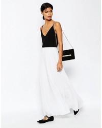 0463940c4 Comprar una falda larga de gasa plisada blanca: elegir faldas largas ...