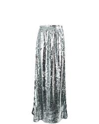 f4058d4fb8 Comprar una falda larga plateada  elegir faldas largas plateadas más ...