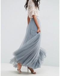 0461c38cd Falda larga de tul celeste de Needle & Thread, €169   Asos ...