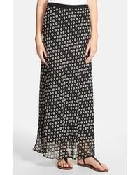 Falda larga en negro y blanco original 4384045