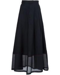 Falda larga negra de MM6 MAISON MARGIELA