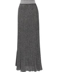 90266b941a Comprar una falda larga plateada Missoni
