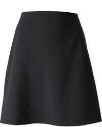 Falda Línea A Negra