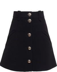 Falda línea a negra de Chloé