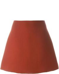 Falda línea a roja de Marni