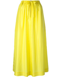 Falda midi amarilla de Joseph