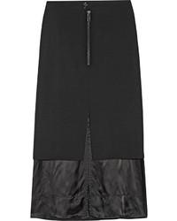 Falda midi con recorte original 10670591