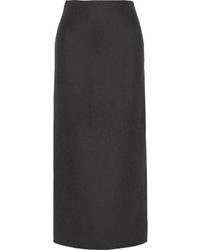 Falda midi en gris oscuro de The Row