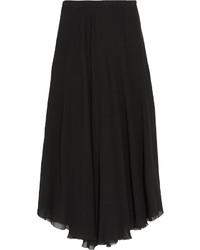 Falda midi plisada negra de Etoile Isabel Marant