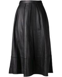 Falda midi plisada original 4064472