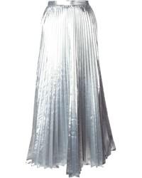 10b8b77e2e Comprar una falda plisada plateada de farfetch.com  elegir faldas ...