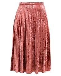 Falda Midi Roja de Glamorous