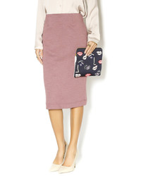 Falda midi rosada original 1474647