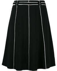 Falda negra de Emporio Armani